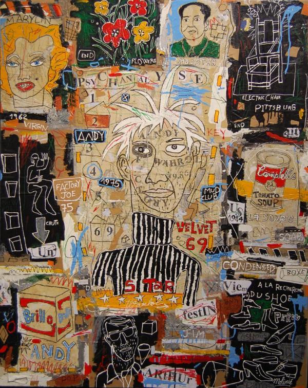 Warhol - Mickaël Molinié - 2008
